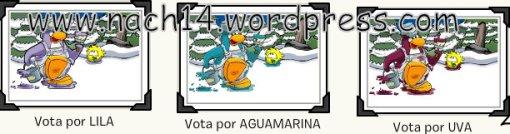 Lila,Aguamarina o Uva¿?