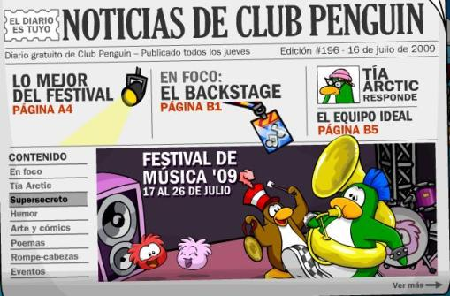 Diario club penguin