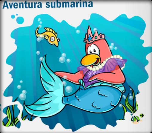 aventura submarina